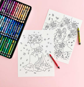 free artist coloring pages