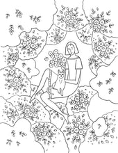 Load image into Gallery viewer, free coloring page and illustration