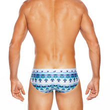 Load image into Gallery viewer, Bondi - Turquoise - LoRise Brief