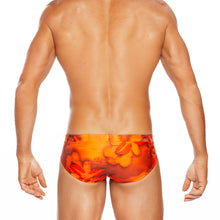 Load image into Gallery viewer, Honolulu - Orange - Lo Rise Brief