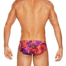 Load image into Gallery viewer, Waikiki - Full Pink Print - LoRise Brief