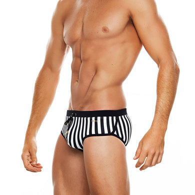 Saint Martin - Black & White - Boy Brief