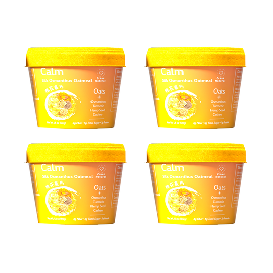Calm | Silk Osmanthus Oatmeal (4 cups)