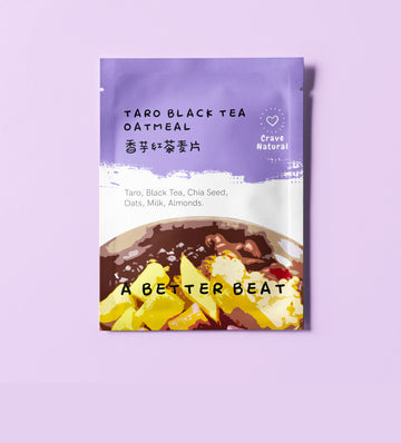 Taro Black Tea Oatmeal