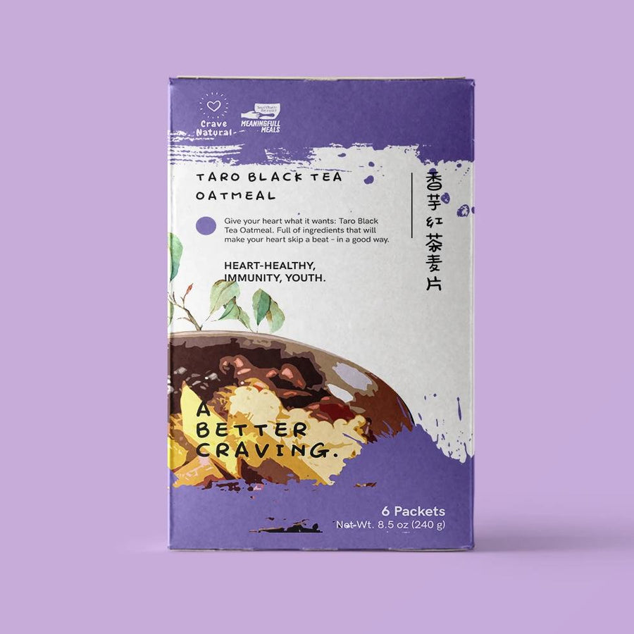 Original Taro Black Tea Oatmeal (Sold Out)