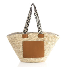 Load image into Gallery viewer, Val Natural Vegan Tote