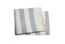 Load image into Gallery viewer, Monogrammed Candy Stripe Throw