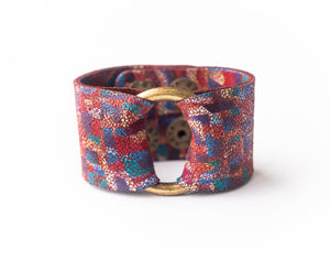 Deco Leather Cuff - 2 sizes