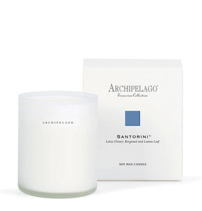 Santorini Boxed Excursion Candle by Archipelago Botanicals