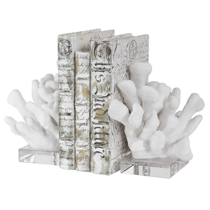 Charbel Bookends, Set of 2