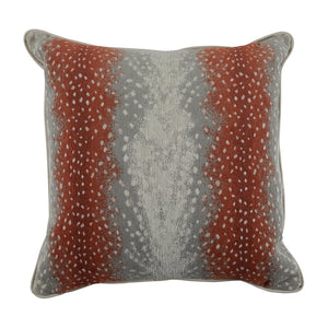 Terra Cotta Fawn Decorative Pillow