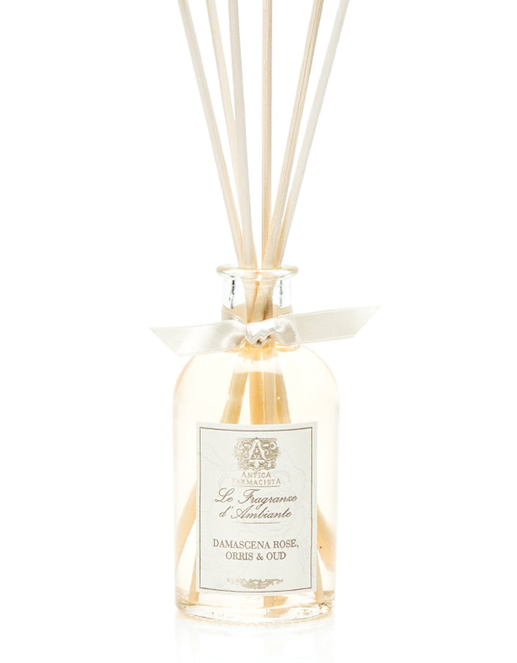 Damascena Rose, Orris & Oud Fragrance Diffuser by Antica Farmacista - 2 sizes