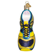 Load image into Gallery viewer, Running Shoe Glass Ornament