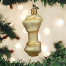 Load image into Gallery viewer, Rawhide Bone Glass Ornament