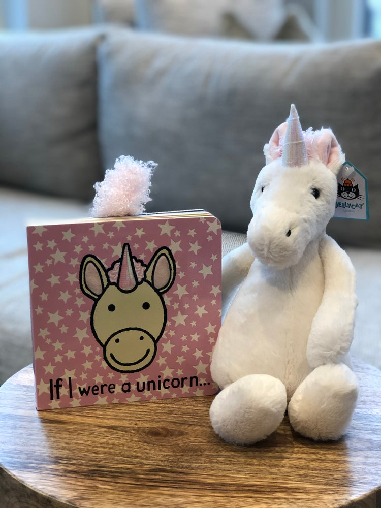 Bashful Unicorn & If I Were A Unicorn Book
