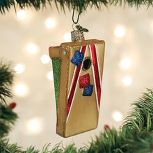 Load image into Gallery viewer, Corn Hole Glass Ornament