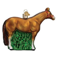 Load image into Gallery viewer, Quarter Horse Glass Ornament