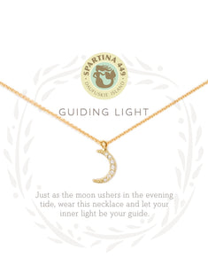 Guiding Light Moon Crescent Sea La Vie Necklace by Spartina