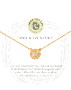 Adventure Compass Sea La Vie Necklace by Spartina