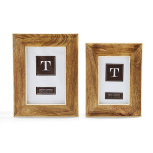 Mango Wood Wide Border Frames - 4x6 and 5x7