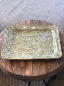 Small Rectangular Serving Piece by Terrafirma Ceramics