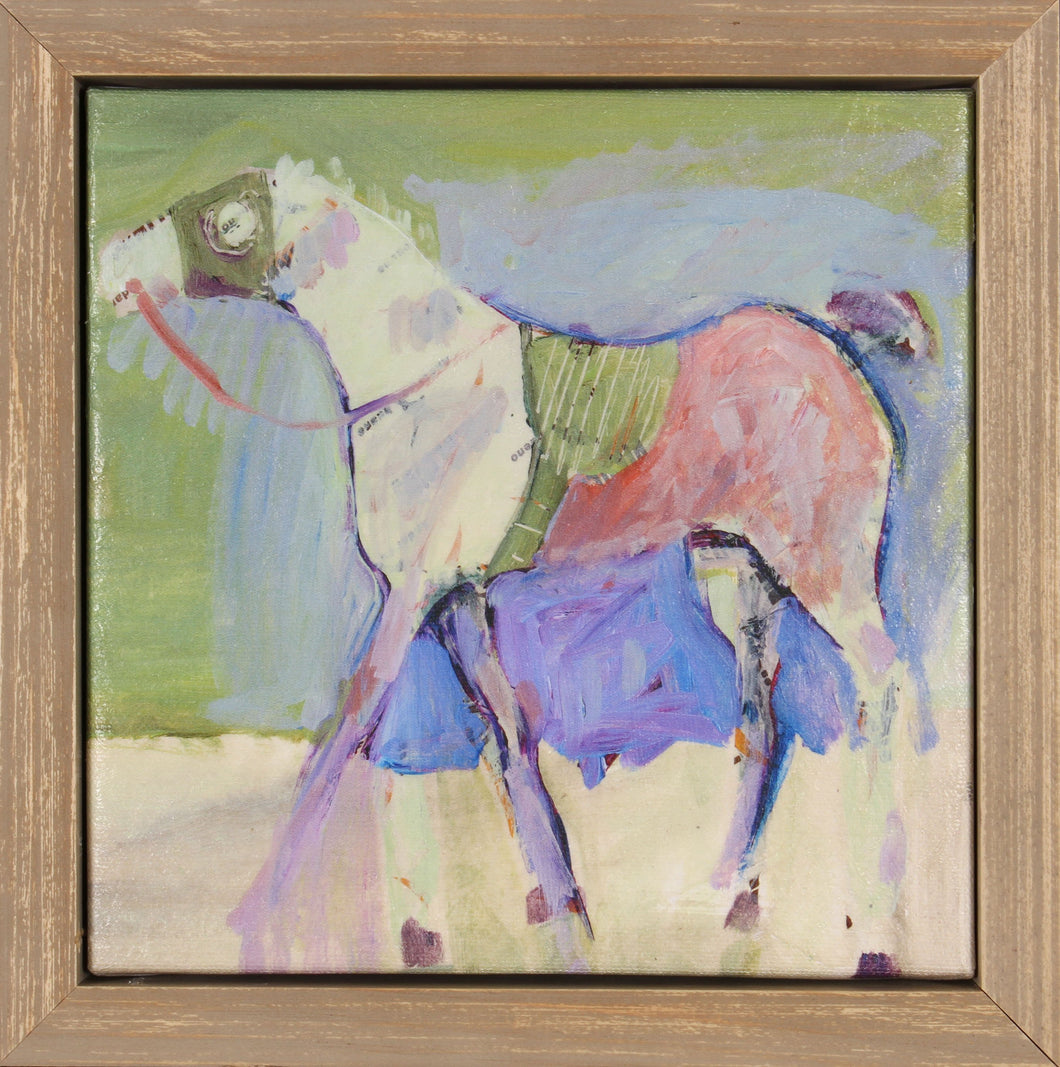 Equestrian II Framed Canvas