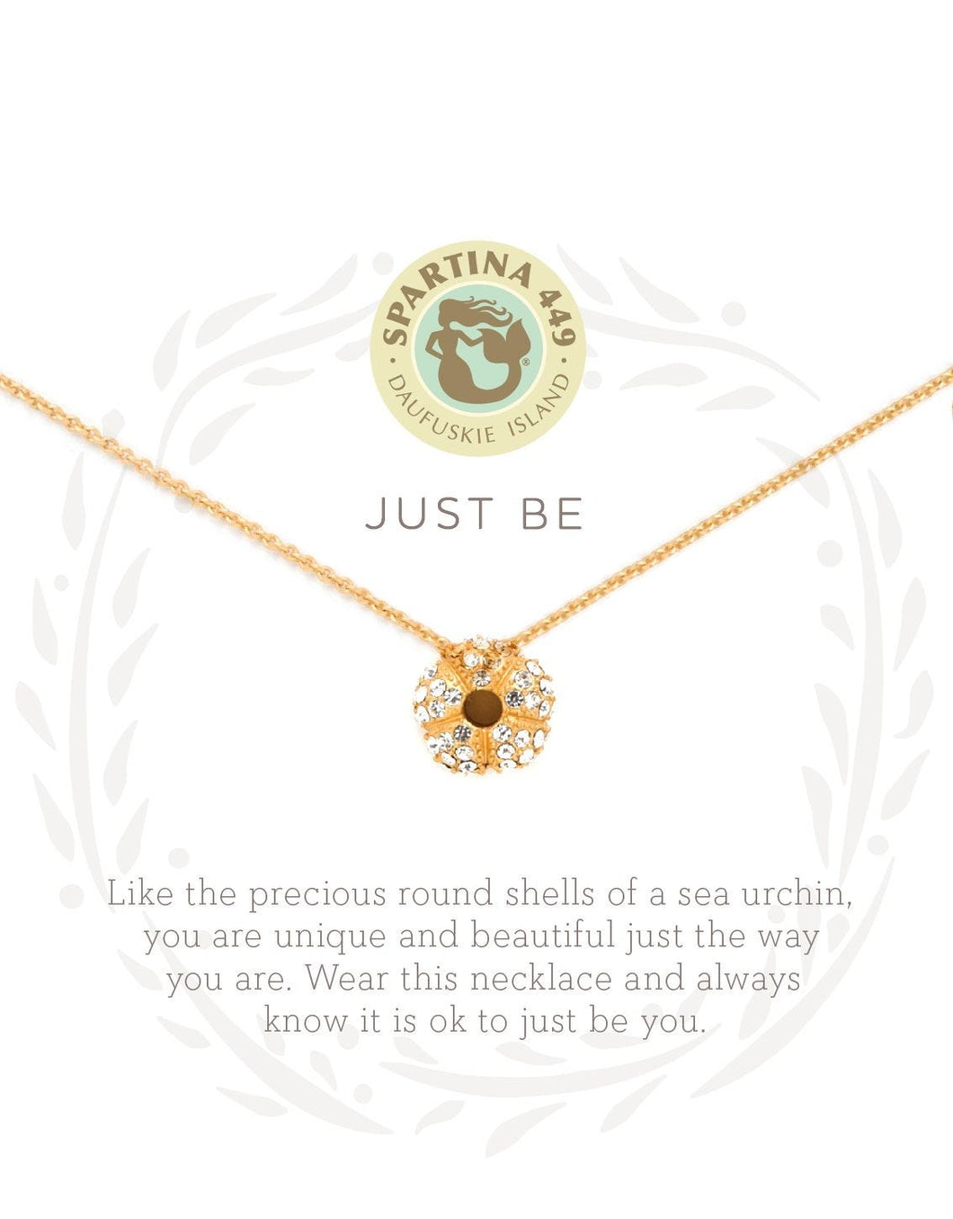 Just Be Sea Urchin Sea La Vie Necklace by Spartina