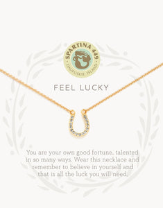 Feel Lucky Horseshoe Sea La Vie Necklace by Spartina