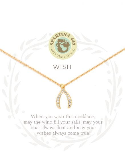 Wishbone Sea La Vie Necklace by Spartina