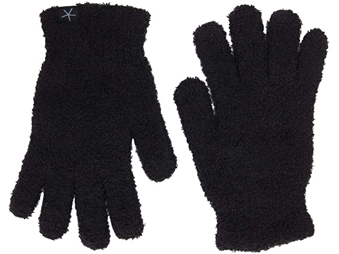 Barefoot Dreams Cozychic Black Gloves