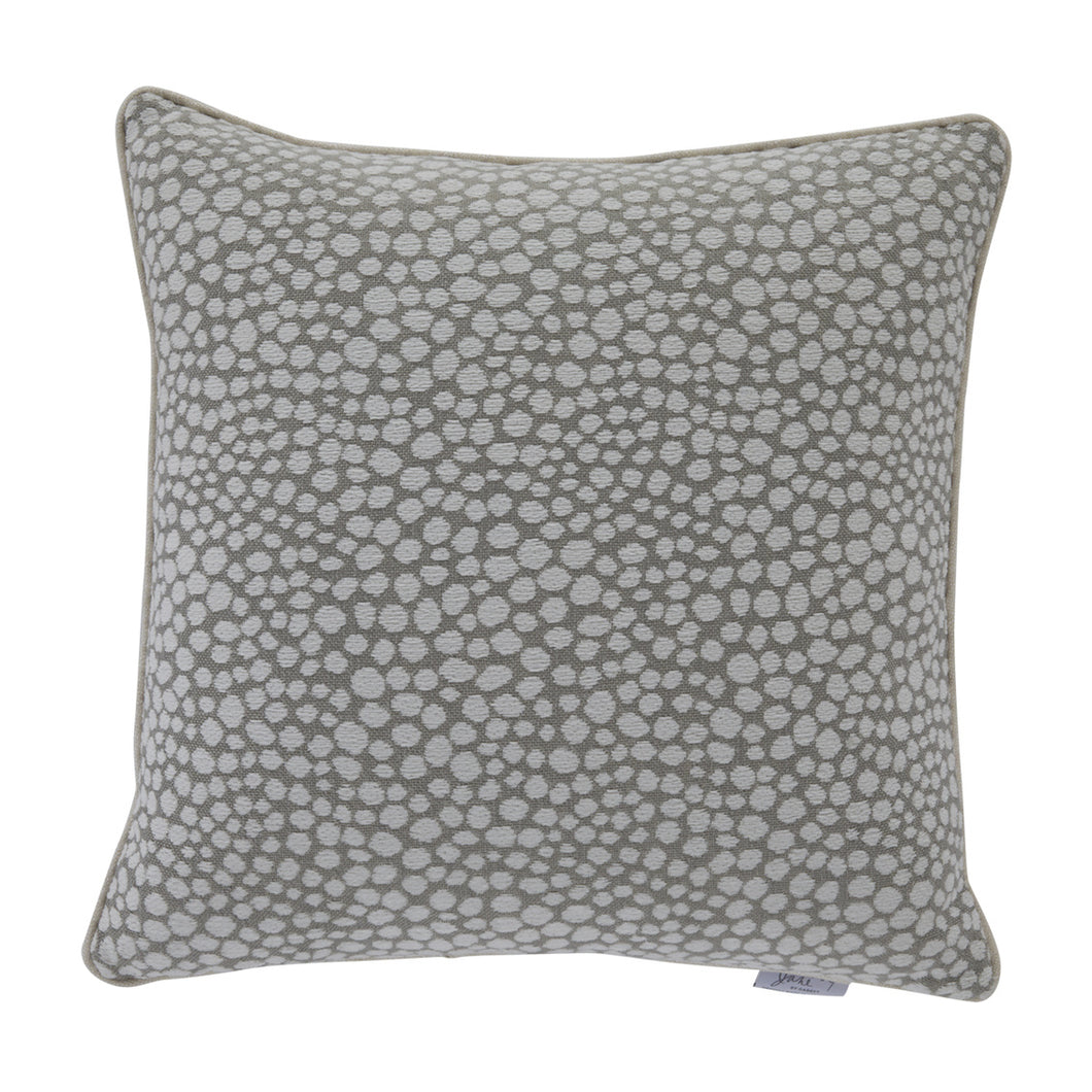 Silver Cheetah Decorative Pillow