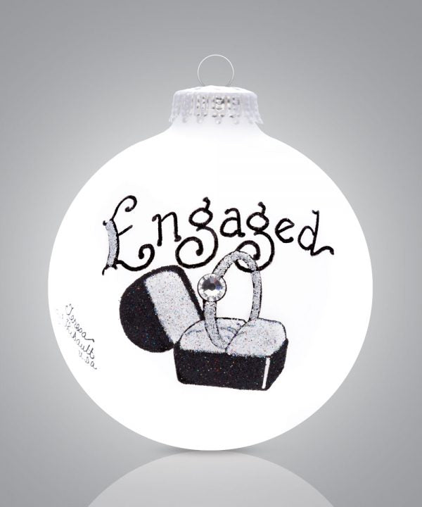 Engaged Ornament