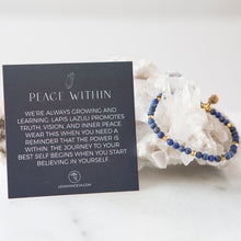 Load image into Gallery viewer, Lapis Lazuli Gemstone Bracelets