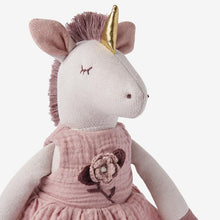 Load image into Gallery viewer, Luna Unicorn Baby Knit Toy