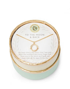 To The Moon & Back Reversible Sea La Vie  Necklace by Spartina