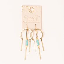Load image into Gallery viewer, Dream Catcher Stone Earrings
