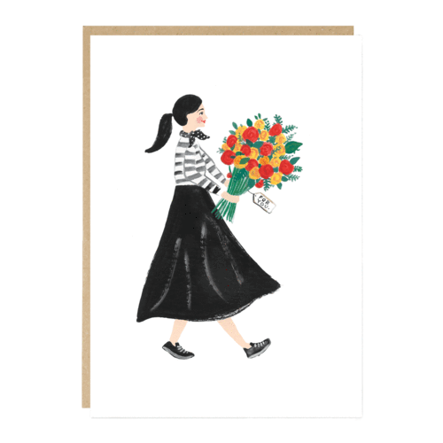 Eliza Greeting Card