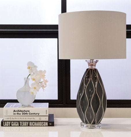Bethany Lamp in Gray