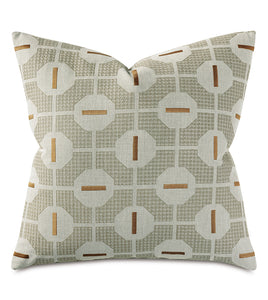 Octave Graphic Decorative Pillow