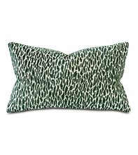 Load image into Gallery viewer, Earl Woven Emerald Boutique Pillow