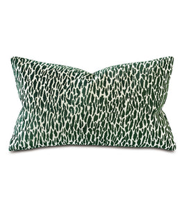 Earl Woven Emerald Boutique Pillow