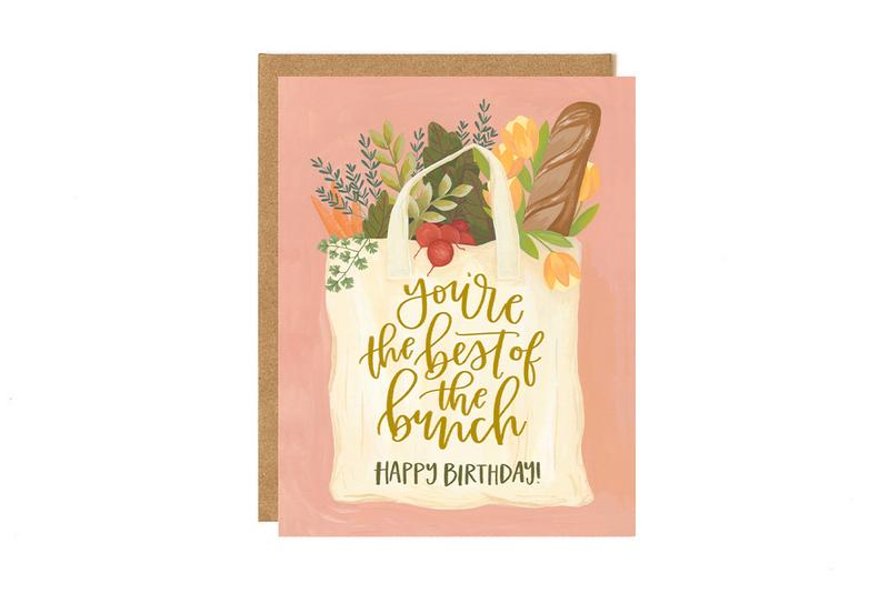 Best of The Bunch Birthday Greeting Card