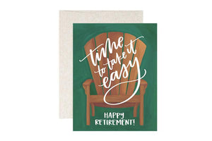 Retirement Chair Greeting Card