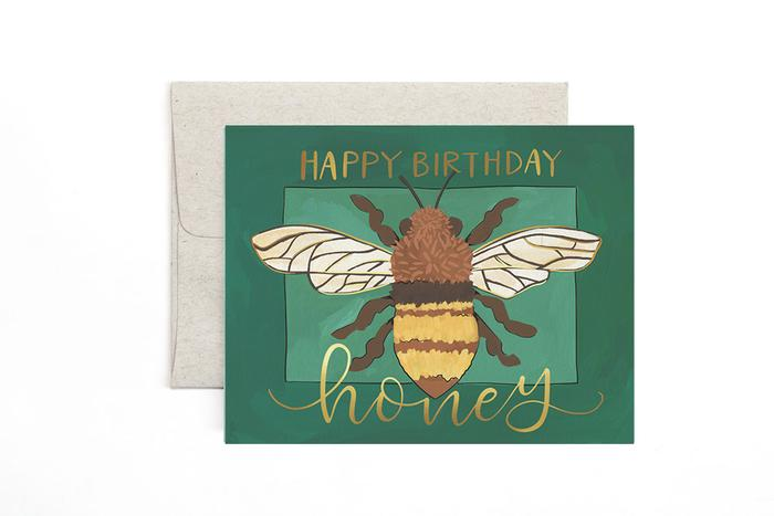 Birthday Honey Greeting Card