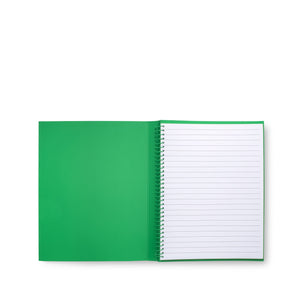 Kate Spade New York Concealed Spiral Notebook, Enchanted Stripe