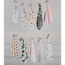 Load image into Gallery viewer, Blanket & Teether Set - Donut, Milk/Cookies, Bear & Safari