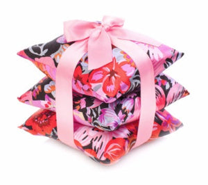 Set of 3 Silk Sachets - 6 different patterns