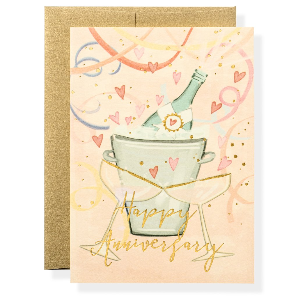 Anniversary Toast Greeting Card
