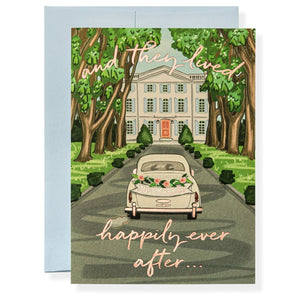 Ever After Wedding Greeting Card