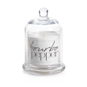 Apothecary Guild Scented Candle Jars with Glass Dome